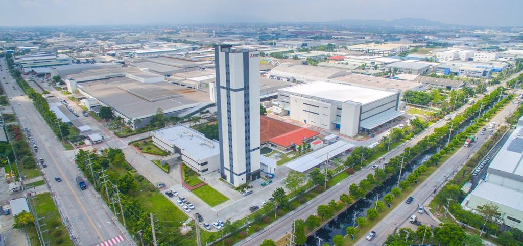 Mitsubishi ElectricNew Elevator Test Tower Thailand