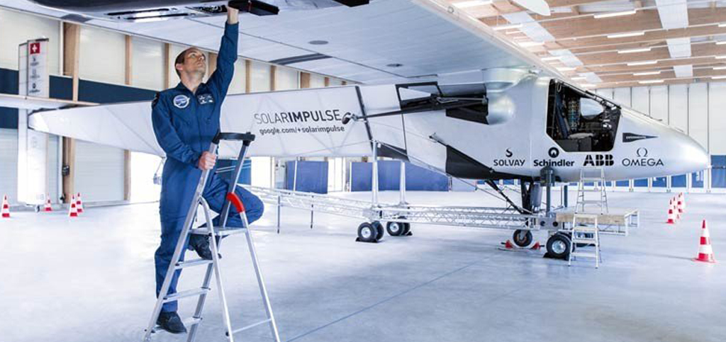 Schindler Solar Impulse